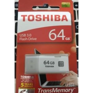 Harga flashdisk toshiba 64gb usb 3 0 usb toshiba 64gb | HARGALOKA.COM