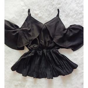 Harga baju blouse atasan wanita riri pleat top model sabrina pleated   | HARGALOKA.COM