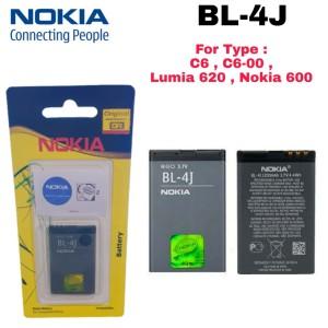 Harga baterai original nokia bl 4j bl4j bl 4j lumia 620 c6 c6 00 nokia 600   | HARGALOKA.COM