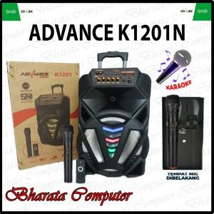 Harga speaker advance k1201n pengeras suara ampli bass extra | HARGALOKA.COM
