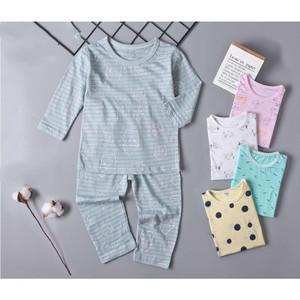 Harga baju tidur anak piyama import anak perempuan bahan korea adem   tp pjg 5 | HARGALOKA.COM