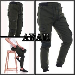 Harga celana joger cargo celana jogger pria army   army | HARGALOKA.COM