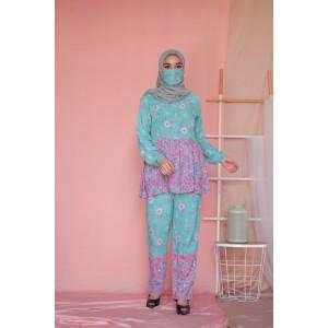Harga sastra piyama baju tidur baby doll set batik rayon f3   l   HARGALOKA.COM