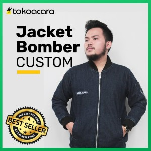 Harga jaket bomber custom murah bekasi grosir bordir | HARGALOKA.COM