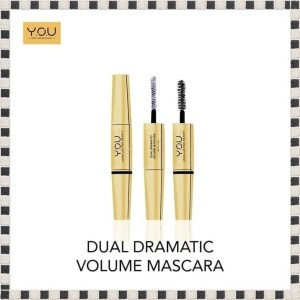 Harga you dual dramatic volume mascara   y o u the gold | HARGALOKA.COM