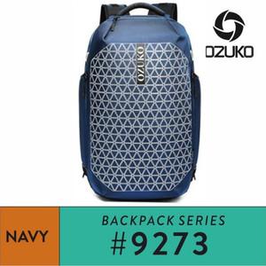 Harga ozuko backpack 9273   navy   | HARGALOKA.COM