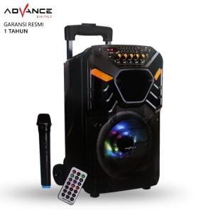 Harga speaker bluetooth advance k881 speaker pa hi fi | HARGALOKA.COM