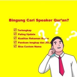 Harga speaker murottal al quran lengkap 30 juzz buku | HARGALOKA.COM