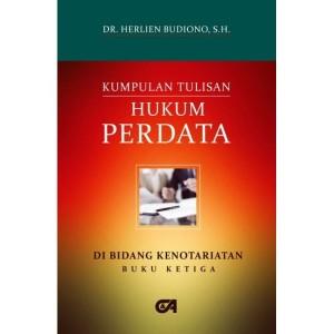 Harga kumpulan tulisan hukum perdata di bid kenotariatan buku ke 3 i 2015 | HARGALOKA.COM