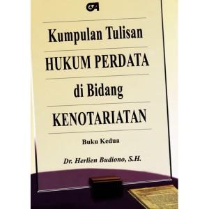 Harga kumpulan tulisan hukum perdata di bid kenotariatan buku ke 2 ii 2013 | HARGALOKA.COM
