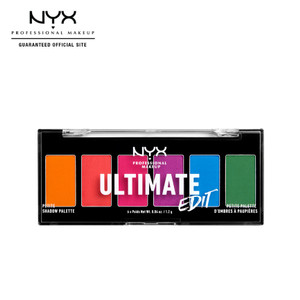 Harga nyx prof eyeshadow ultimate edit petite shadow palette   | HARGALOKA.COM
