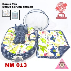 Harga kasur bayi lipat berkelambu dino lucu tempat tidur bayi baru   HARGALOKA.COM