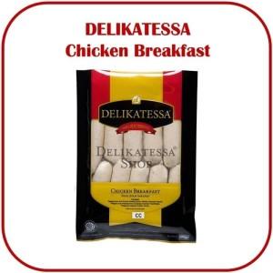 Harga delikatessa chicken breakfast sosis cc sausage ayam sarapan | HARGALOKA.COM