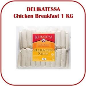 Harga delikatessa chicken breakfast kg sosis ayam sarapan hotel | HARGALOKA.COM