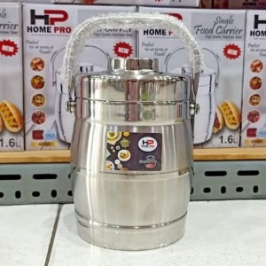 Harga rantang tunggal thermo homepro tahan panas stainless steel 1 6   HARGALOKA.COM