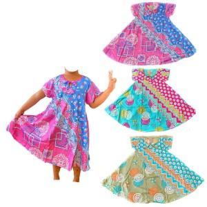 Harga daster batik anak baju harian baju tidur anak   motif cantik   | HARGALOKA.COM