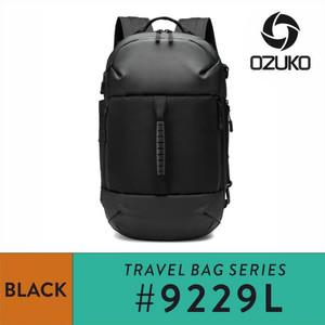 Harga ozuko backpack 9229s   black   | HARGALOKA.COM