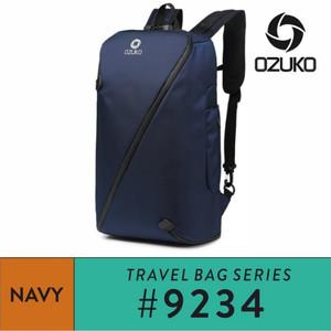 Harga ozuko backpack 9234 navy   | HARGALOKA.COM