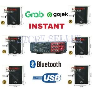 Harga paket speaker 6 titik sound cafe dan restoran amplifier bluetooth   HARGALOKA.COM
