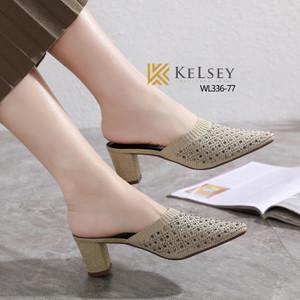 Harga sepatu heels kelsey branded nyaman elegan pesta kerja mewah wl336 77   beige | HARGALOKA.COM