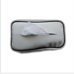 Harga putih tempat tisu mobil kartu hp kotak tissue car holder phone | HARGALOKA.COM