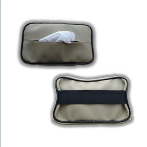 Harga coklat tempat tisu mobil kartu hp kotak tissue car holder phone | HARGALOKA.COM