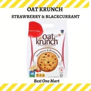 Harga munchy 39 s oat krunch strawberry munchy stroberi biskuit | HARGALOKA.COM