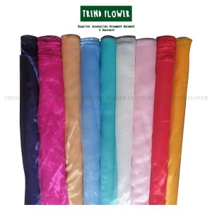 Harga kain organdi silk organza hiasan hijab | HARGALOKA.COM