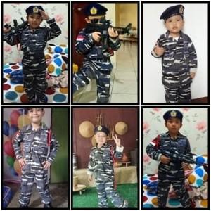 Harga loreng tentara nasional indonesia angkatan laut   baju tni al anak   | HARGALOKA.COM