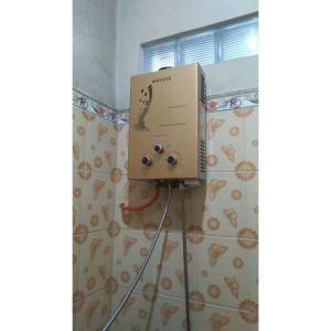 Harga water heater gas murah paket pemasangan bonus tabung gas | HARGALOKA.COM