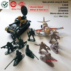 Harga mainan tentara set tank pesawat   army | HARGALOKA.COM