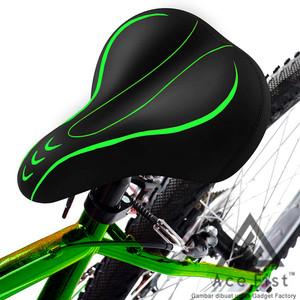 Harga sadel sepeda super empuk kursi jok mtb gunung lipat saddle bike road   | HARGALOKA.COM