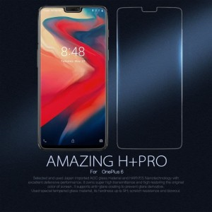 Harga oneplus one plus 6 nillkin h pro tempered glass clear screen   HARGALOKA.COM