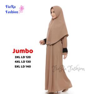 Harga model baju gamis set jumbo ukuran s   5xl     HARGALOKA.COM