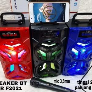 Harga speaker bluetooth wireless kts lr f2021 mic   HARGALOKA.COM