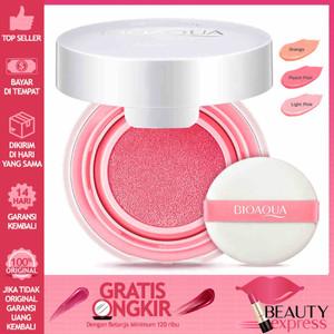 Harga bioaqua blush on cushion smooth muscle flawless   light | HARGALOKA.COM