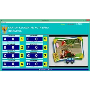 Harga mesin nomor antrian multimedia komputer wireless 3 | HARGALOKA.COM
