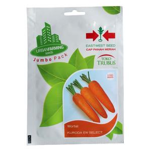 Harga benih bibit hidroponik wortel kuroda isi 3500 biji jumbo pack | HARGALOKA.COM