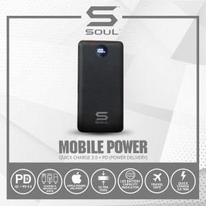 Harga powerbank soul quick charge 3 0 pd power delivery 10 000 | HARGALOKA.COM