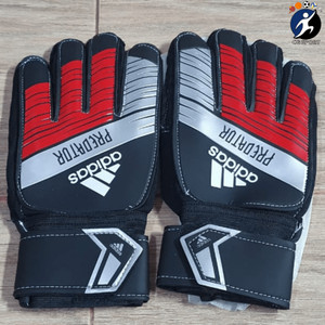 Harga sarung tangan kiper adidas tulang import   hitam | HARGALOKA.COM