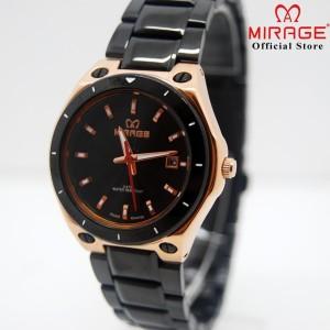 Harga mirage jam tangan wanita 7569l black   HARGALOKA.COM