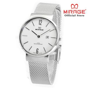 Harga terbaru jam tangan wanita mirage pasir dw 8624 silver | HARGALOKA.COM