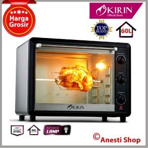 Harga xtra besar oven listrik kirin kbo 600ra 60 l lampu interior   | HARGALOKA.COM