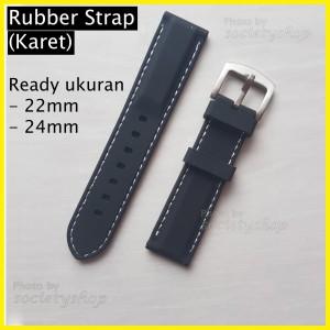 Harga rubber strap watch tali karet jam 22mm 24mm seiko orient dw fossil ap   | HARGALOKA.COM