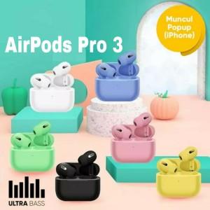 Harga airpods pro oem wireless apple gen 3 macaron iphone air pods ipad     HARGALOKA.COM
