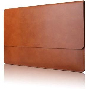 Harga tas kulit asli premium lenovo laptop leather sleeve 13 14 | HARGALOKA.COM