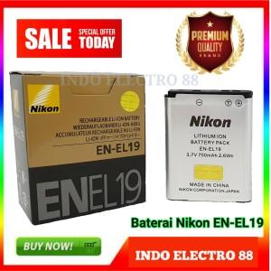 Harga battery nikon en el19 s100 s2500 s2700 s2750 s3100 s3200 s3300 s3500 | HARGALOKA.COM