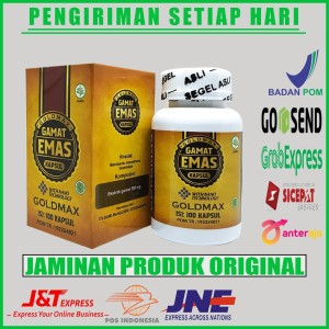 Harga goldmax gamat emas kapsul original   obat lipoma   benjolan di | HARGALOKA.COM
