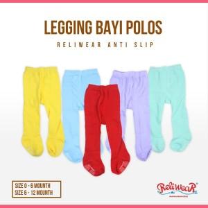 Harga legging bayi polos cotton rich tights tutup kaki reliwear baby   0 6 bln   HARGALOKA.COM