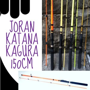 Harga joran pancing katana kagura 150cm kuat dan lentur   toko | HARGALOKA.COM